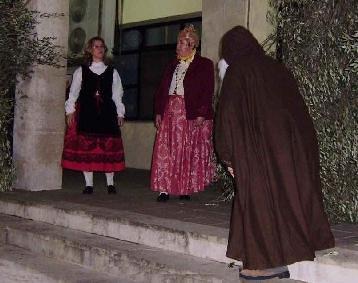 Sant Antoni tentat per la filla de la Governadora