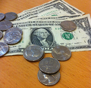 4 bills and change