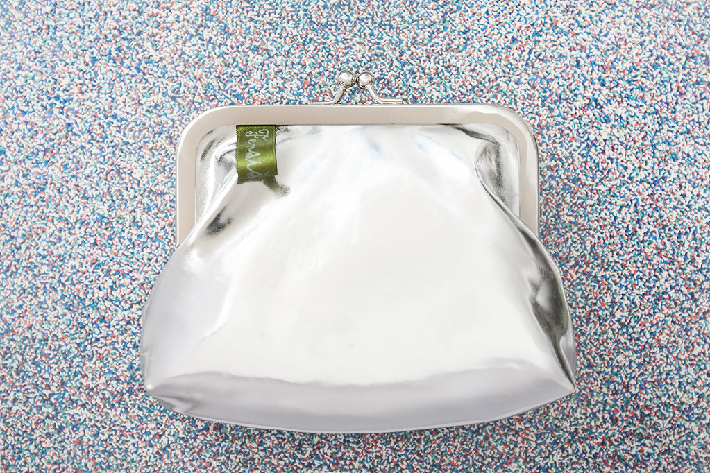 fensismensi blog coin purse sna hribar silver leather chrome