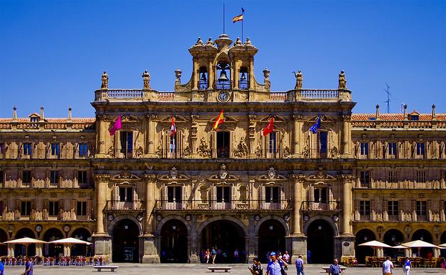 Si, és Salamanca / Salamanca main square