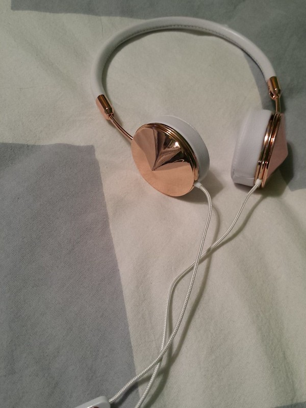 Frends, Frends Layla headphones, Frends Layla headphones rose gold, Frends headphones, Frends rose gold