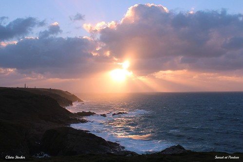 Penwith Sunset by www.stockerimages.blogspot.co.uk