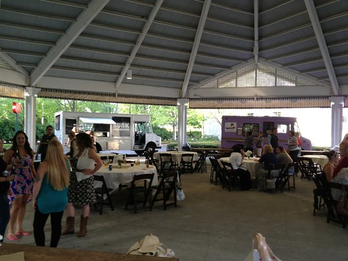 Oregon Square Convention Dinner with Food Trucks