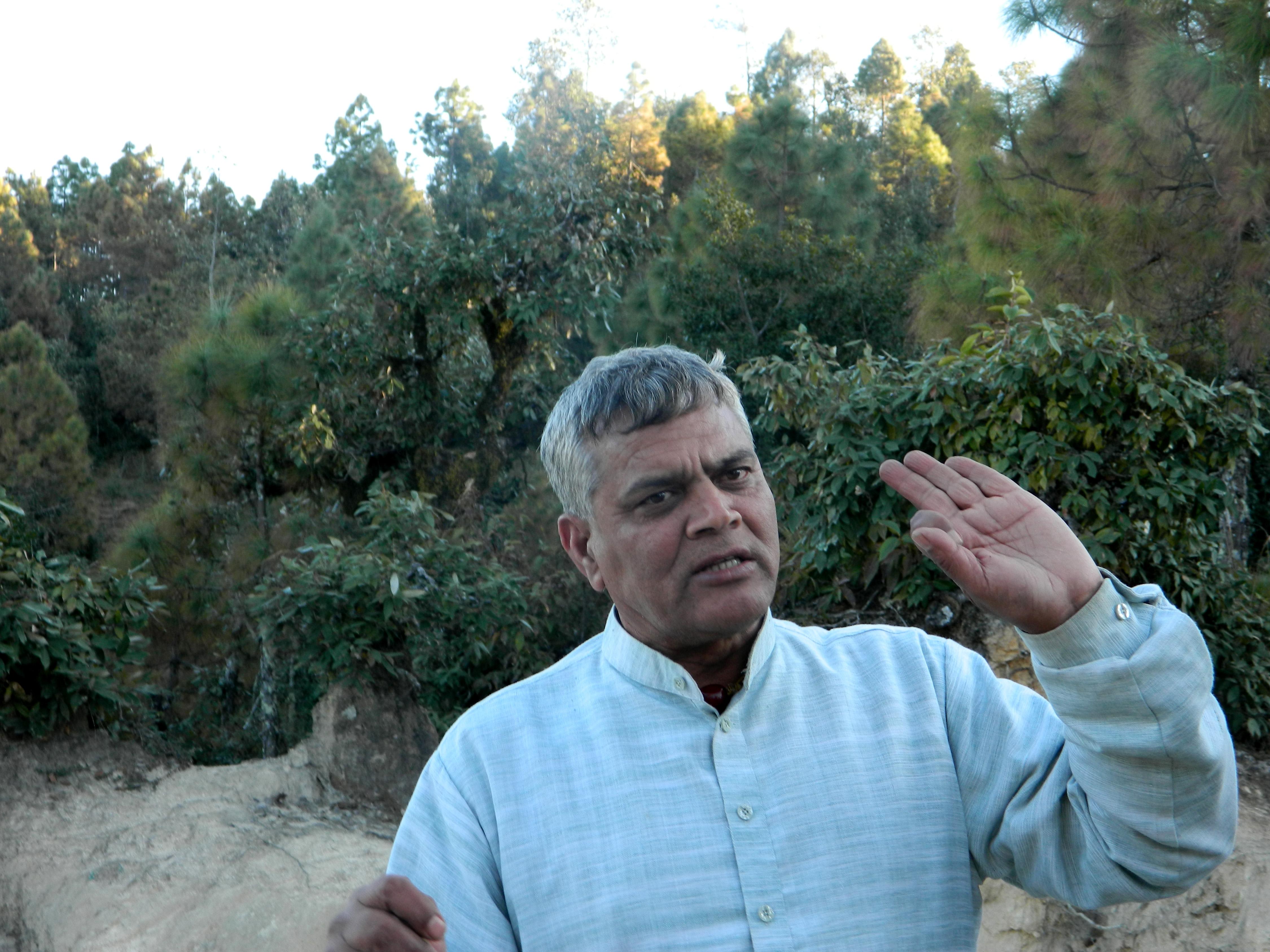 सच्चिदानंद भारती ने पानी और जंगल संरक्षण का जबरदस्त मिशाल पेश किया