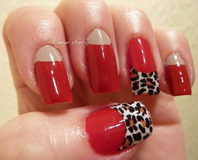 red + leopard print tip decal 3