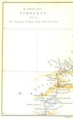 """British Library digitised image from page 900 of """"Timbuktu. Reise durch Marokko, die Sahara und den Sudan, ausgeführt in Auftrage der afrikanischen Gesellschaft in Deutschland in den Jahren 1879 und 1880 ... Mit ... Abbildungen und ... Karten"""""""