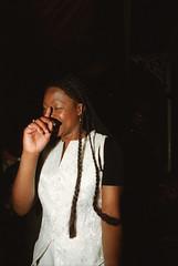 Chartwell Dutiro from Zimbabwe at the Africa Centre London Pela aka Pelagia from Malawi March 2000 043