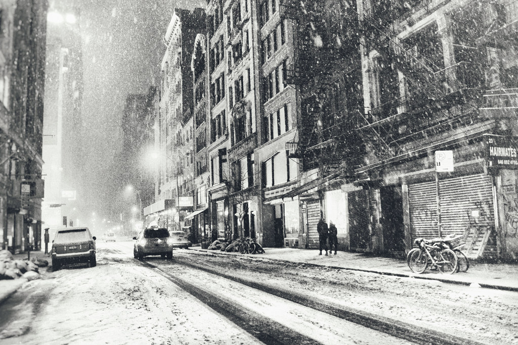 New York City - Snow - Winter Night
