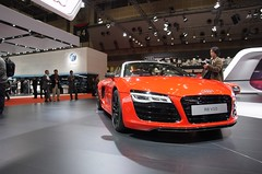 automobile, exhibition, wheel, vehicle, performance car, automotive design, auto show, audi r8, city car, audi e-tron, concept car, land vehicle, luxury vehicle, supercar, sports car,