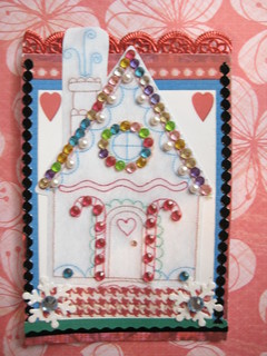 Gingerbread House ATC