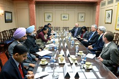 Secretary Kerry Meets With Indian Foreign Secretary Singh