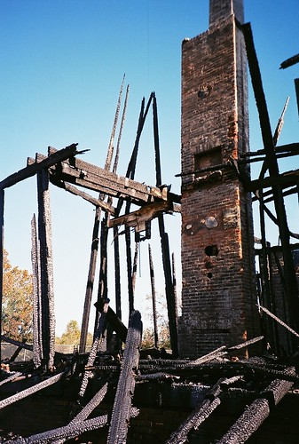 LeBeau Plantation, after the fire
