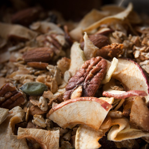 Christmas Granola with Orchard Cottage Apples