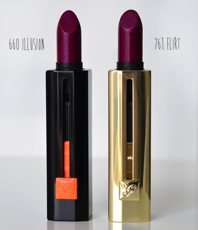 Guerlain Rouge Automatique Illusion & Rouge G de Guerlain Provocative