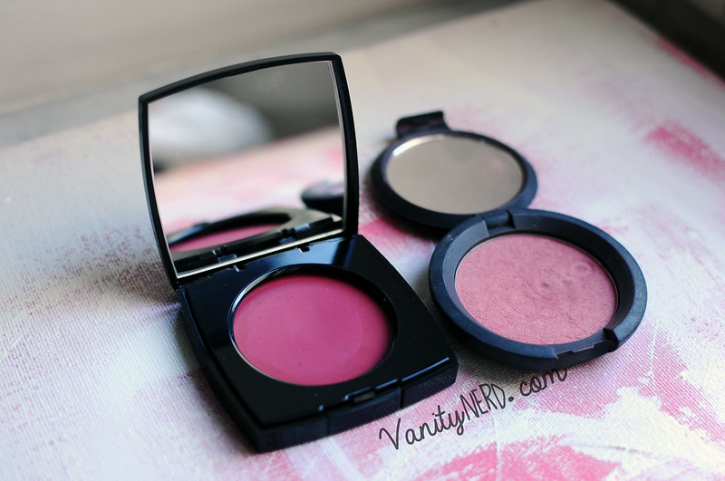 blusher: Chanel - Kiko