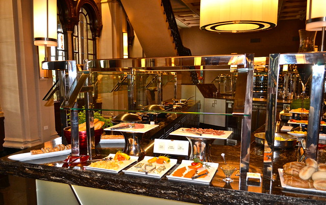 The Breakers Hotel, Palm Beach, Florida - The Circle Room - buffet