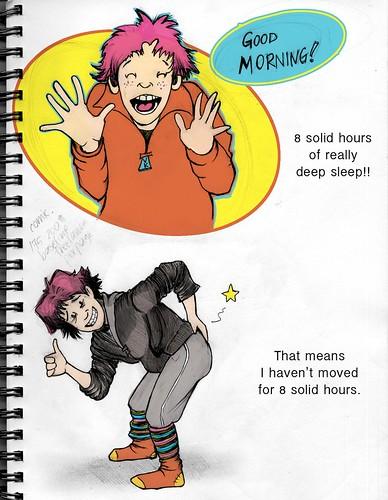 8 hours sleep