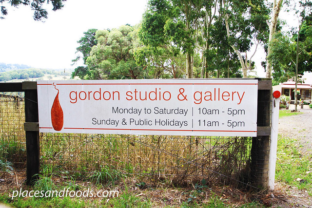 gordon studio sign