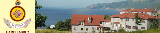 Gampo Abbey on Cape Breton, with resident teacher Pema Chodron