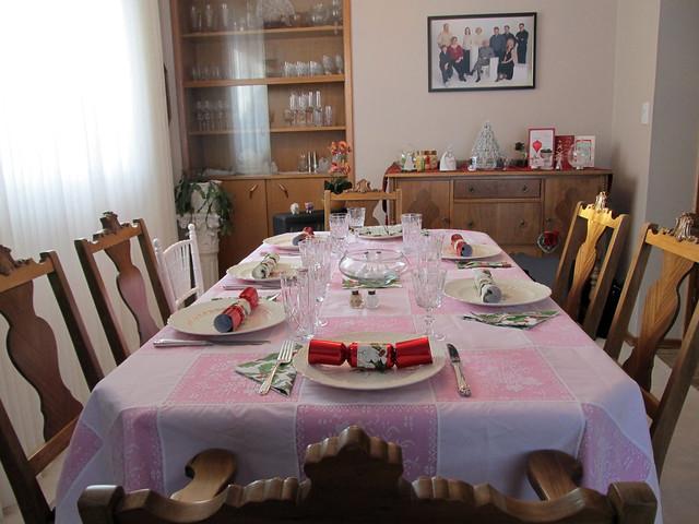 Xmas Dinner Table 1