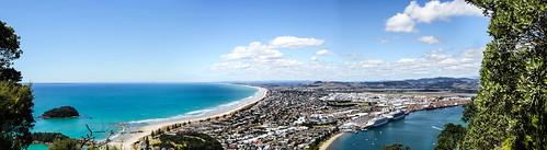ocean blue newzealand summer panorama beach canon landscape eos view tauranga 60d