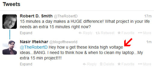 funny tweet robert