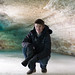 Cameraman in an Ice Cave by Samantha Vilendrer