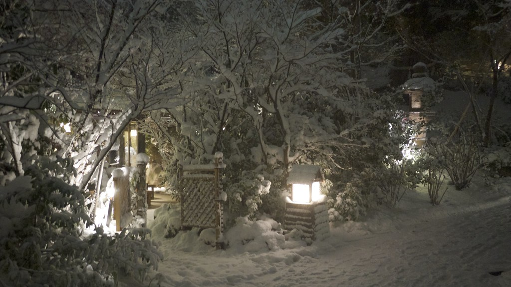 Hotel Chinzanso Under Snow