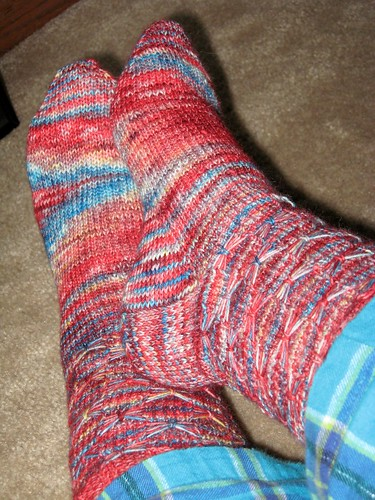 I Dreamed of Africa Socks 1