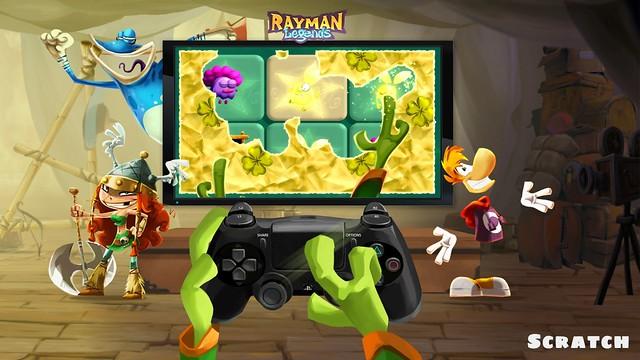 Rayman Legends PS 4 Scratch