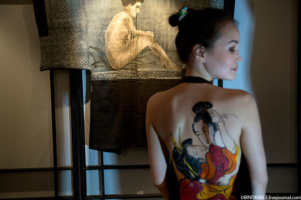 Moscow holds exhibition of erotic art of ancient Japan ©binorable.livejournal.com
