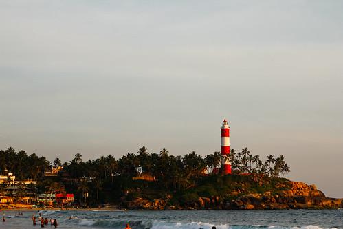 Kovalam Beach Light House!!!