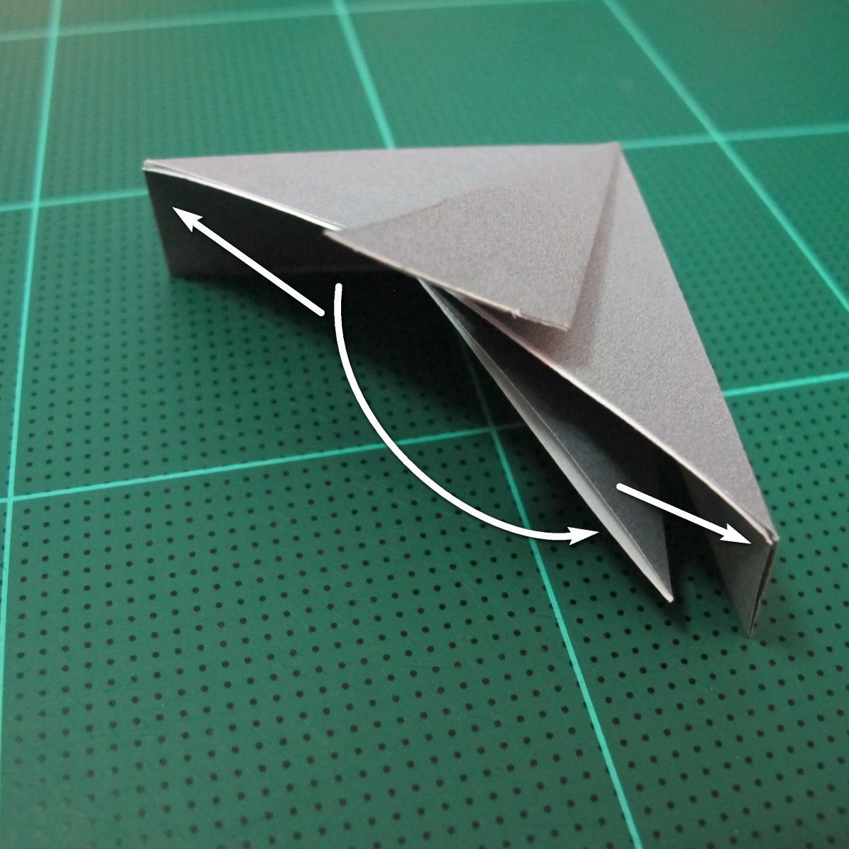 วิธีพับกล่องของขวัญแบบโมดูล่า (Modular Origami Decorative Box) โดย Tomoko Fuse 024