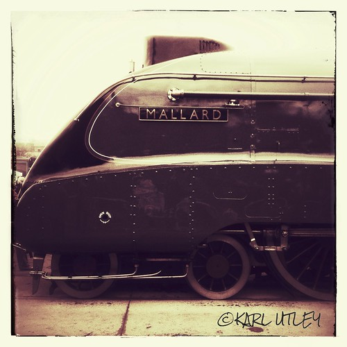 LNER steam locomotive mallard no4468 1938