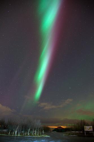 Aurora borealis D15948