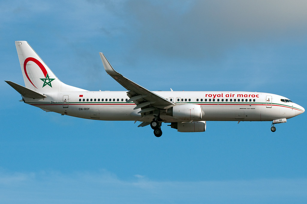 CN-ROY - B738 - Royal Air Maroc
