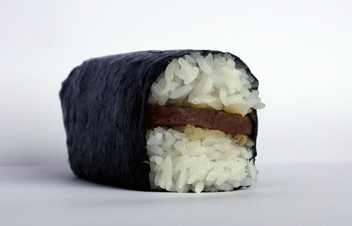 spam musubi from port town chevron