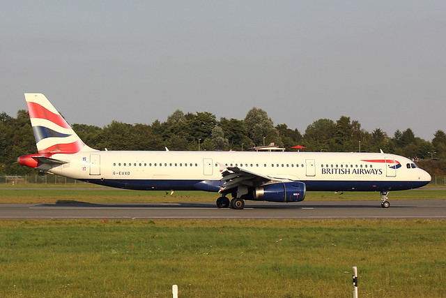 British Airways - A321 - G-EUXD (1)