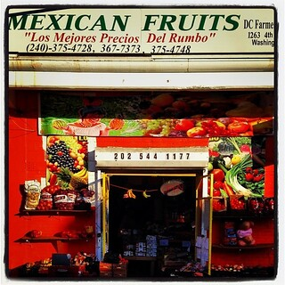 Mexican fruits.
