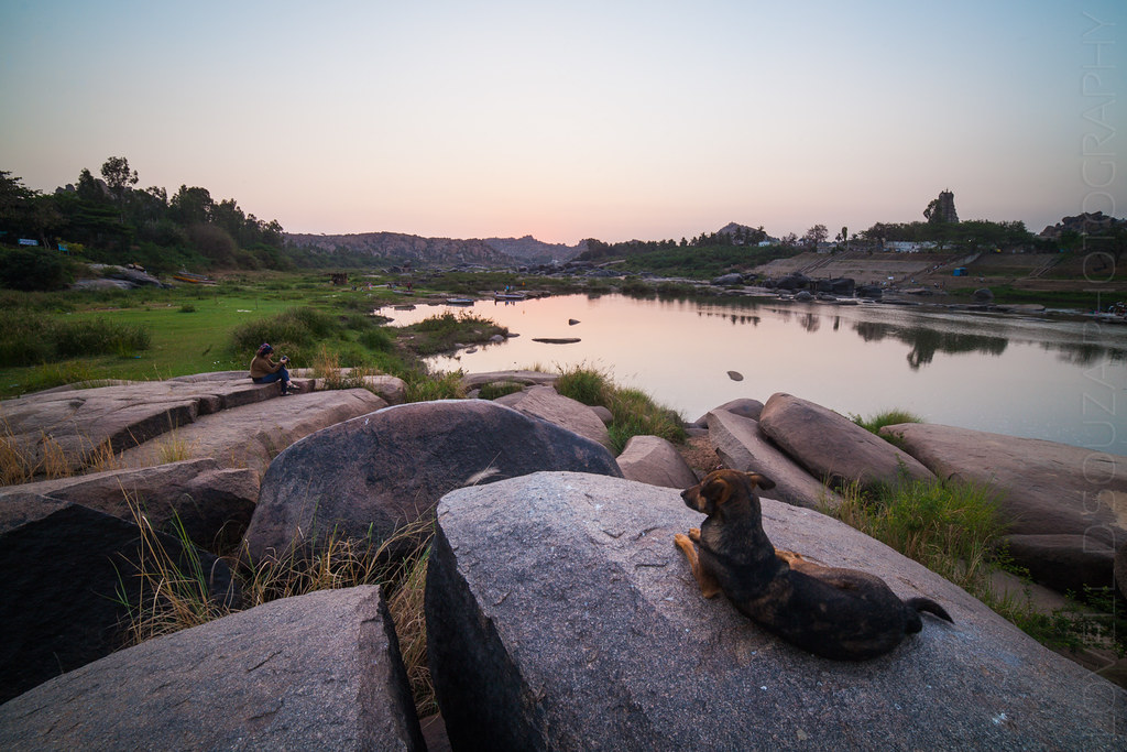 Dawn at Hampi