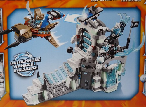 LEGO Legends of Chima Sir Fangar's Ice Fortress (70147)