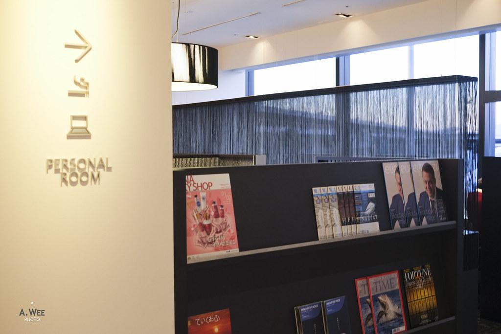 Magazine and private corner