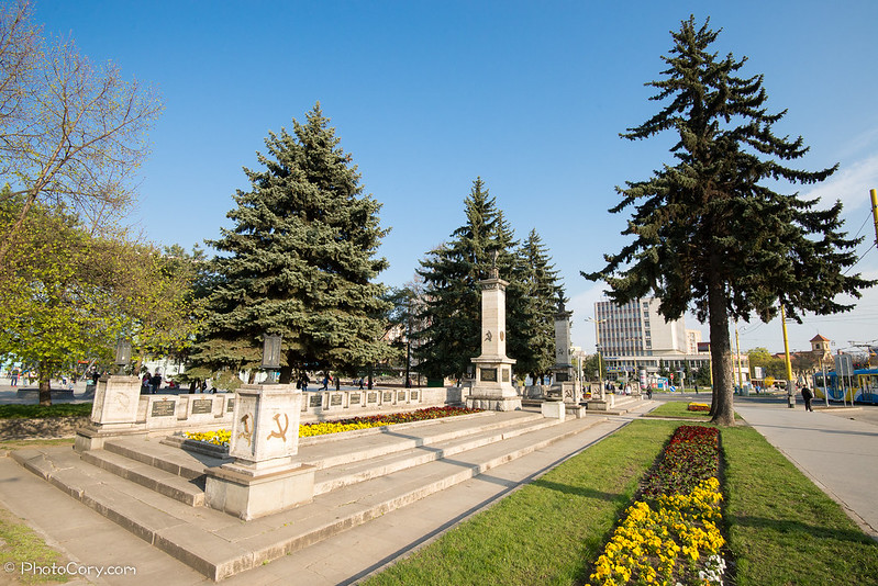 Memorial of fallen heroes, Kosice, Slovakia