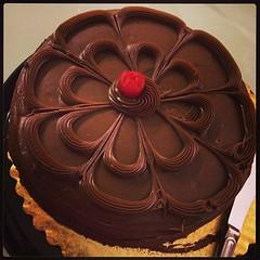 birthday cakes happen...  #chocolate overdose! :-)