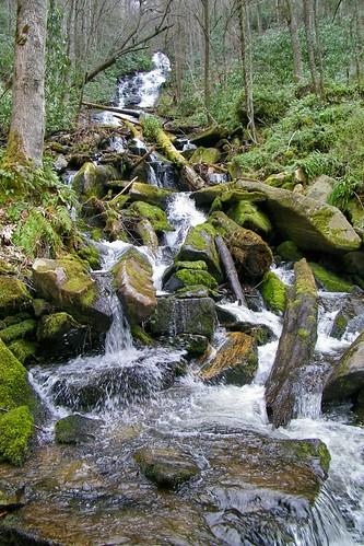 waterfall north carolina nantahala alarka