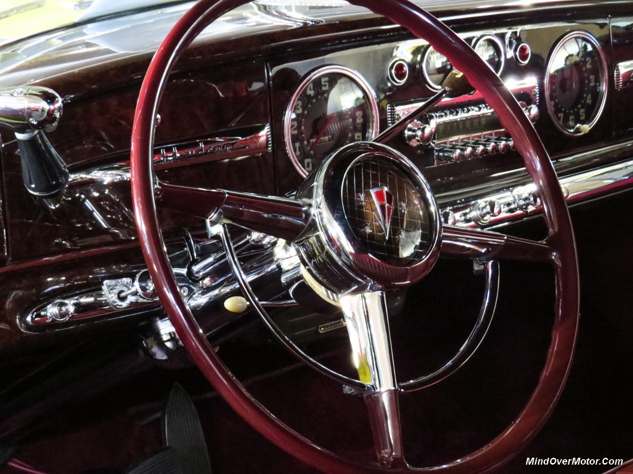 Hudson Commodore Convertible Interior