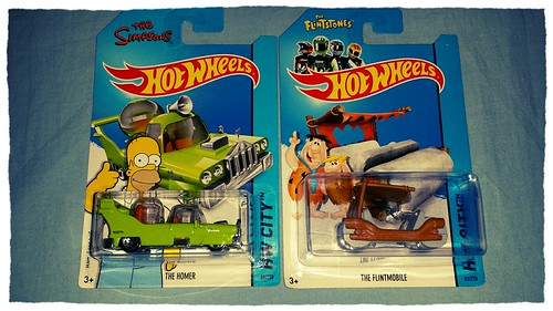 New Hot Wheels in da house... #thesimpsons #theflintstones #geekshavethemostfun #geekology