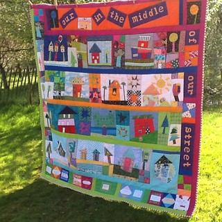 A finished quilt - this one just makes me smile !