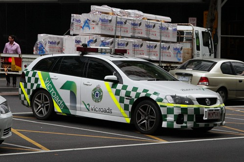 Holden Commodore station wagon for the VicRoads