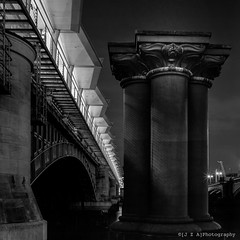 Blackfriars' Railway Bridges